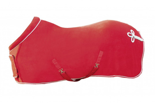 HKM Fleecetäcke Röd