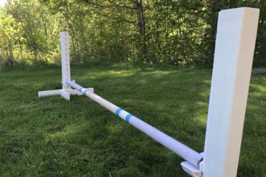 Låga hinderstöd för tex longering (60 cm)