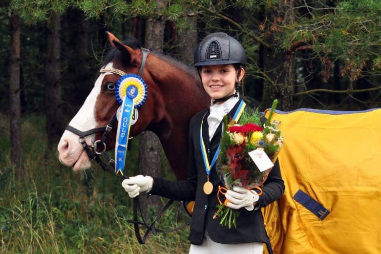 Fantastisk ponny för alla disipliner