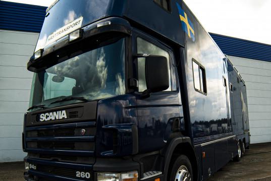 Scania P94D 5-hästars lastbil