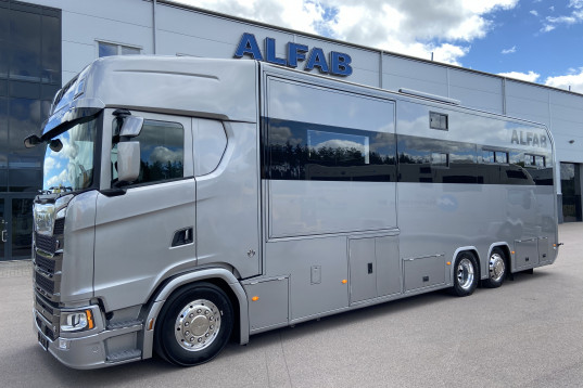 ALFAB Limited Edition på Scania V8