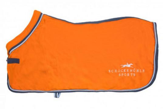 Schockemöhle Premium Fleecetäcke Orange