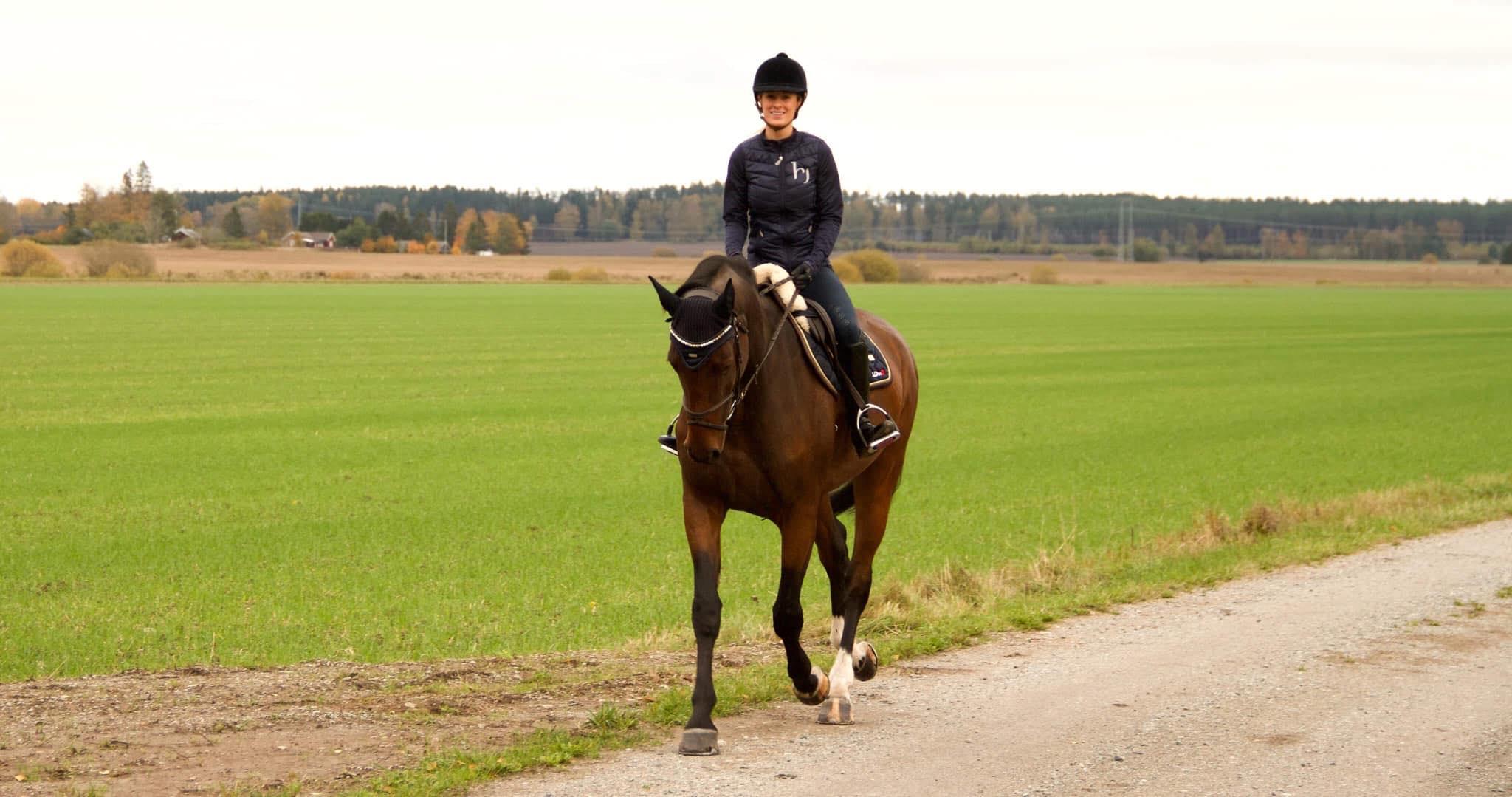 Glöm inte bort ryttaren i hästförsäkringen!