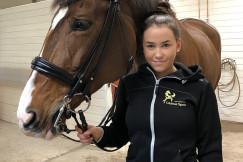 Globus Sport Team Rider: Maja Svensson - Dressyr